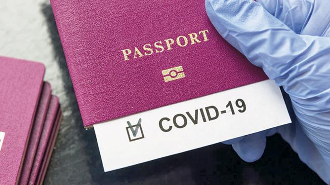 Covid putovnica  Slobodno kretanje unutar EU