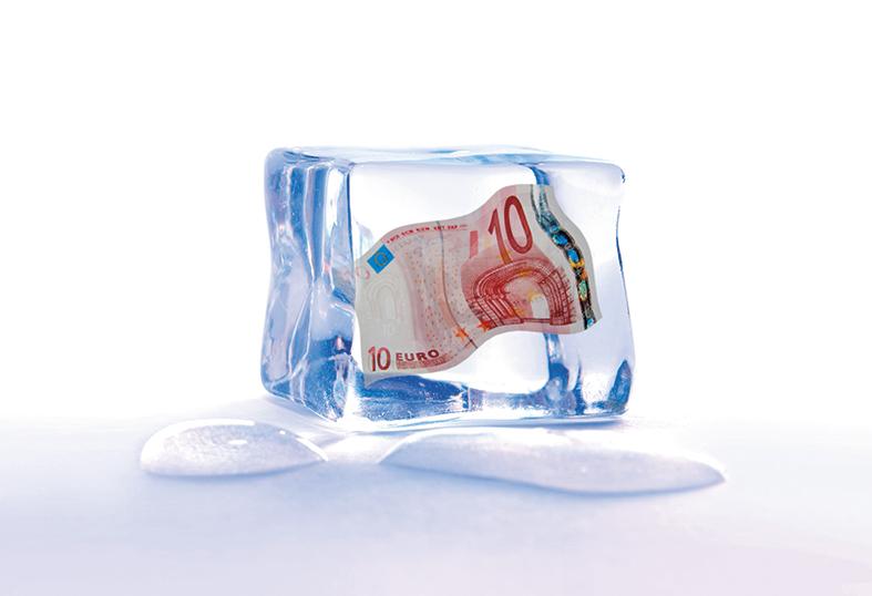Odmrznute plaće u koroni