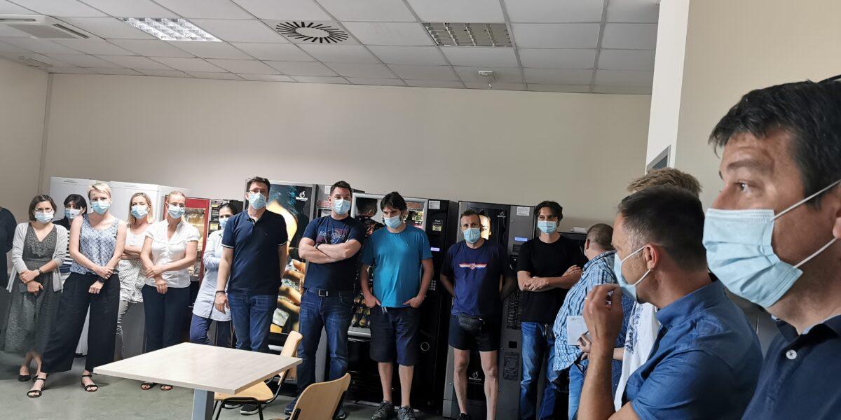 U podružnici Radin print održan skup radnika povodom kolektivnih pregovora