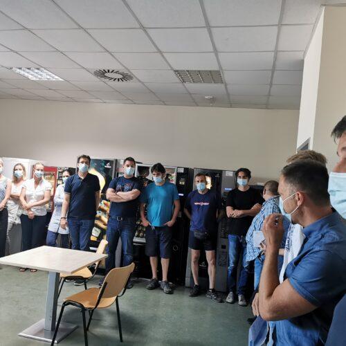 U Radin print održan skup radnika povodom kolektivnih pregovora